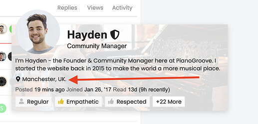 Hayden Profile