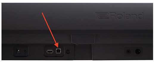 Square USB Port