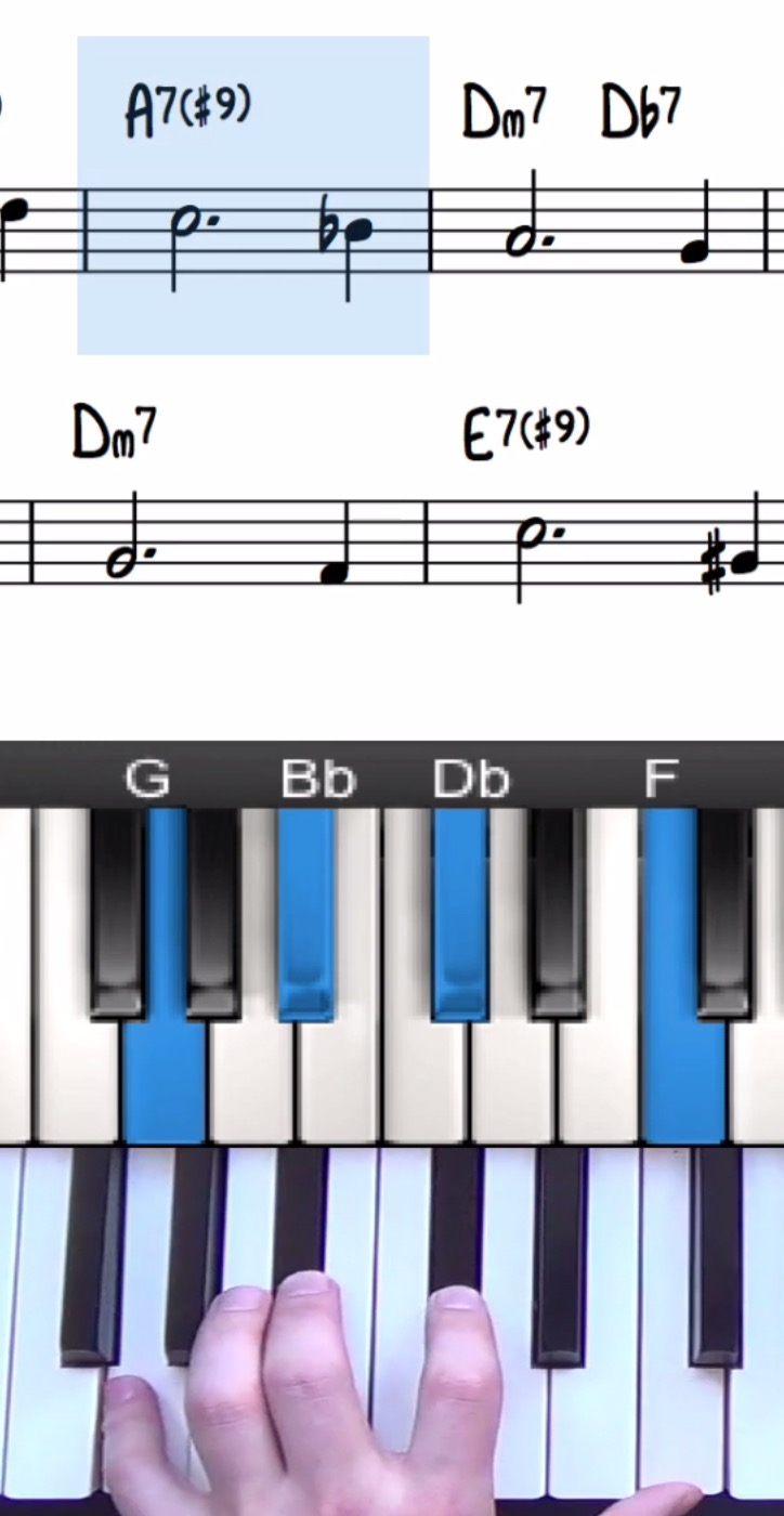 Altered Chord Voicing Question   Jazz Theory Discussion ...