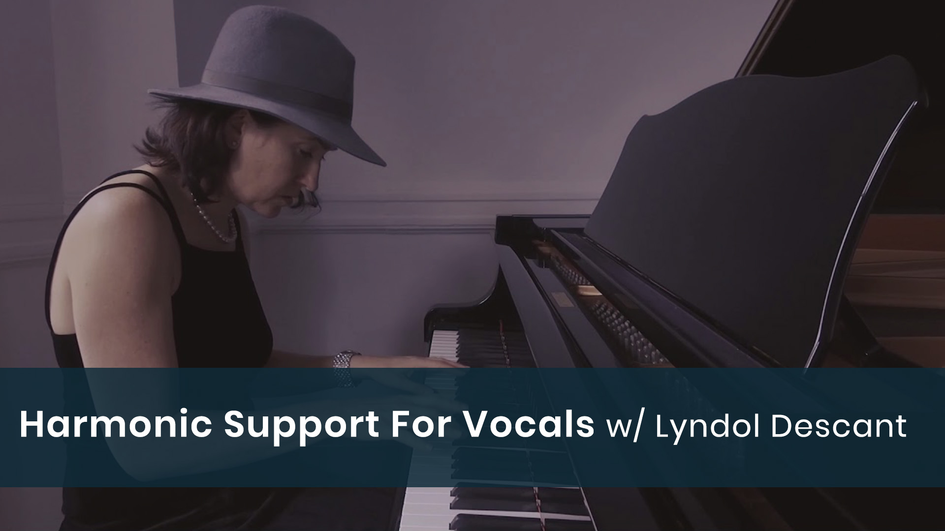 Harmonic Support For Vocals